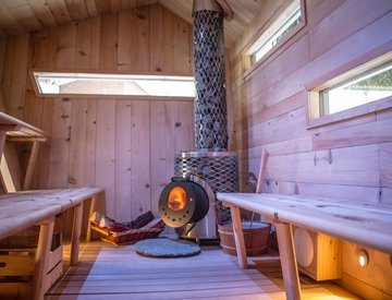 Cubesauna interni - Grand Hotel Royal e Golf Courmayeur